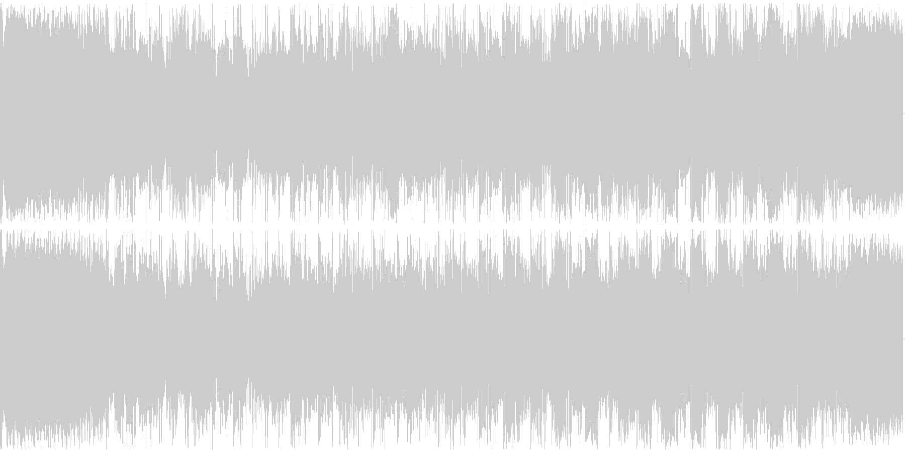【フューチャーベース】ロング2ジングル3の未再生の波形