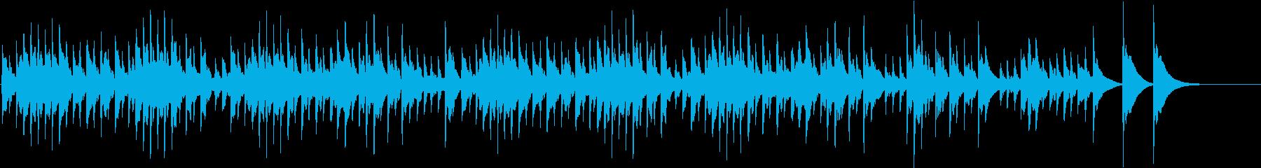 愛の挨拶 オルゴールの再生済みの波形