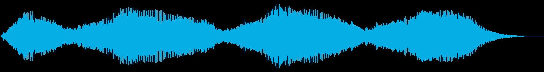 ウォームドローンの再生済みの波形