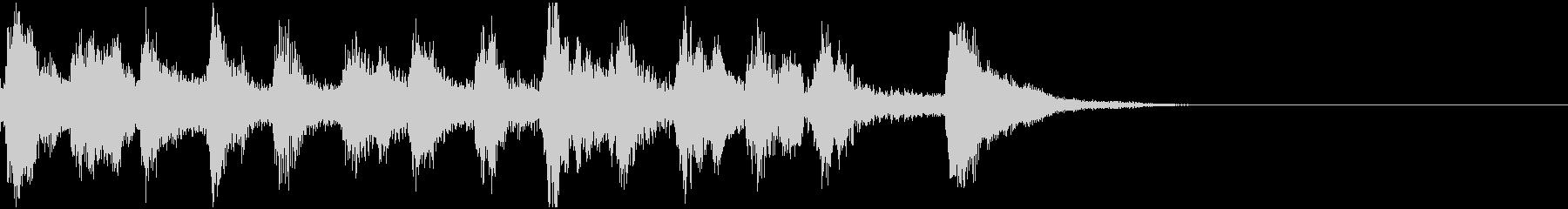 コミカル  オーケストラ音楽の未再生の波形