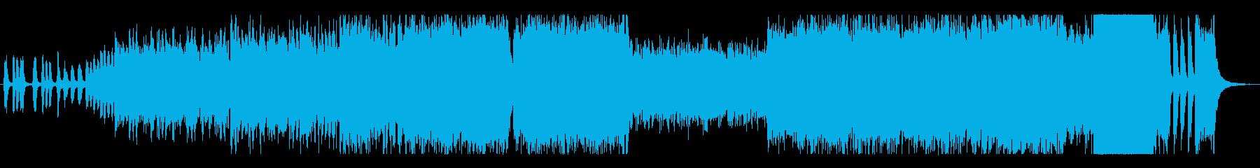 運動会の競争で使われるクラシックの曲の再生済みの波形