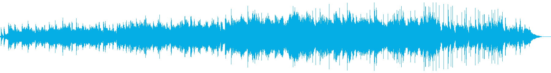 伝統的なケルト音楽に触発された高速...の再生済みの波形