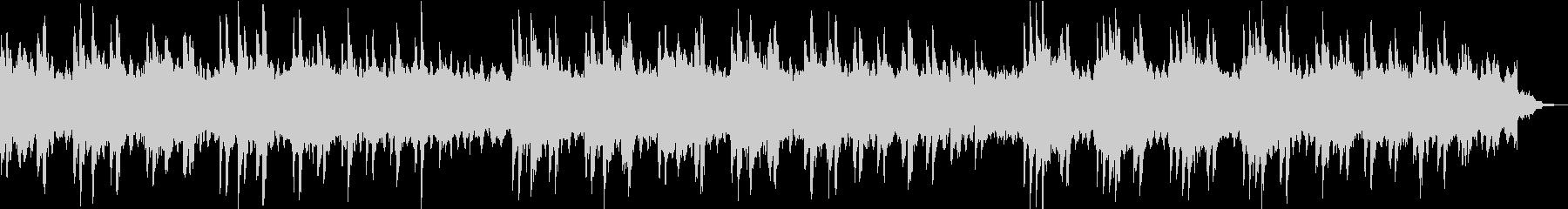 シンプルなピアノのメロディーとシン...の未再生の波形