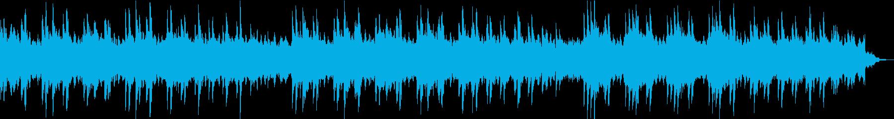 シンプルなピアノのメロディーとシン...の再生済みの波形