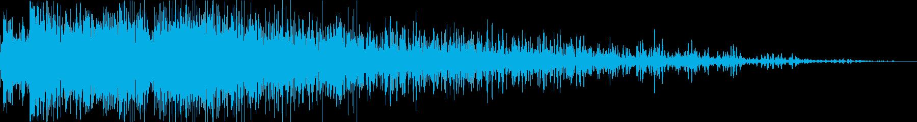 インパクトシャープインテンスヒット...の再生済みの波形