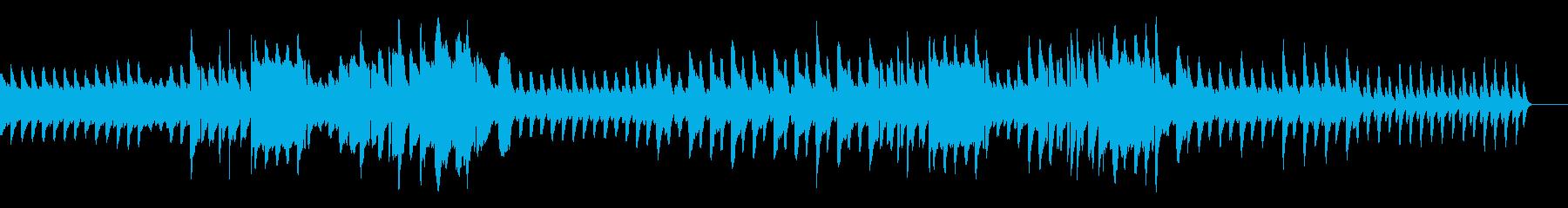 日常・暮らし(ピアノ・リコーダー)の再生済みの波形