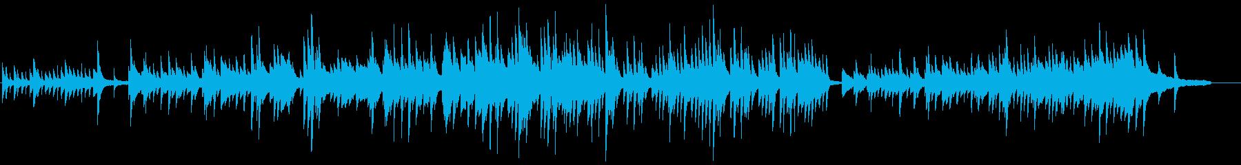 ピアノソロ・春の始まりをイメージの再生済みの波形