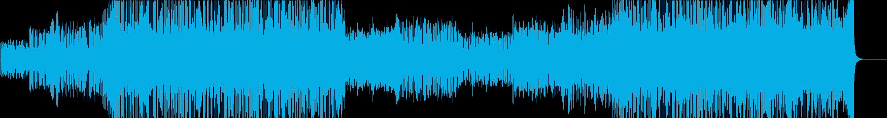 スリル スピード 都会 夜の再生済みの波形