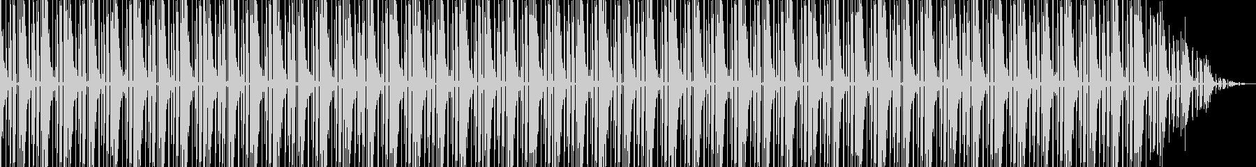 オケヒットの入ったヒップビートの未再生の波形