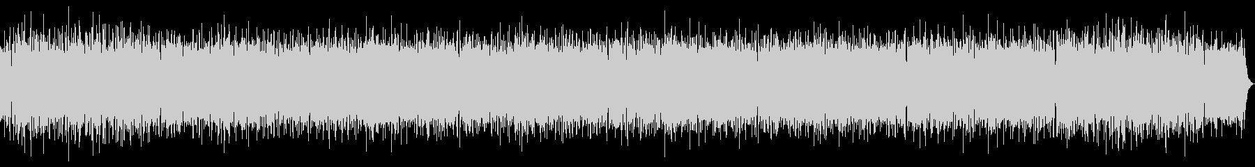 リラックスムードのおしゃれボサノバの未再生の波形