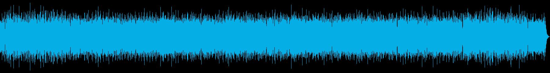 リラックスムードのおしゃれボサノバの再生済みの波形