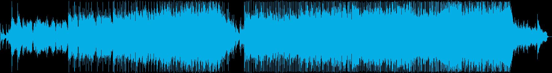 優しい雰囲気のバラード13の再生済みの波形