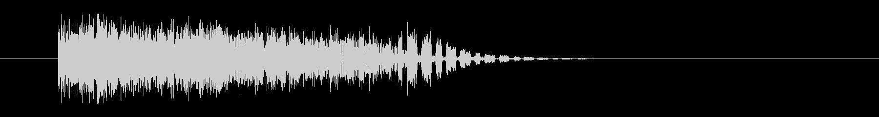 ビリッ/電気/電流の未再生の波形