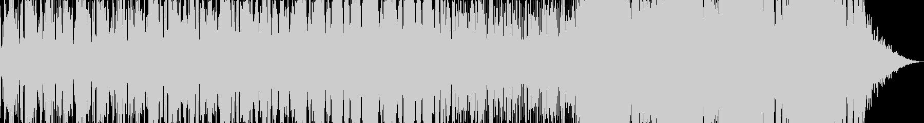 浮遊感のある民族音楽風エレクトロニカの未再生の波形