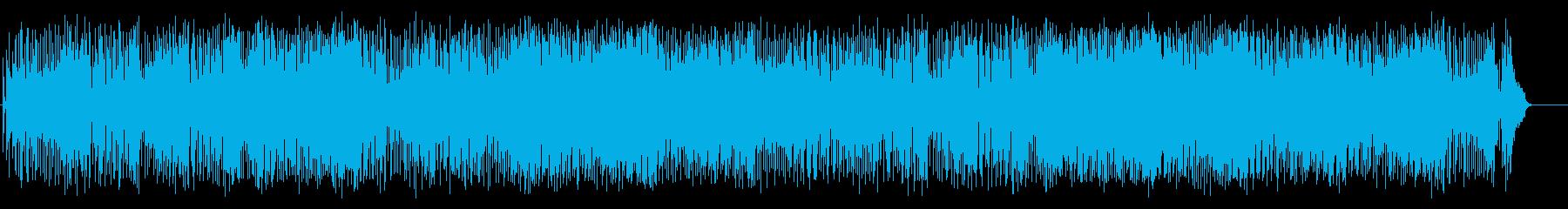 昼下がりの洋風ポップス(フルサイズ)の再生済みの波形