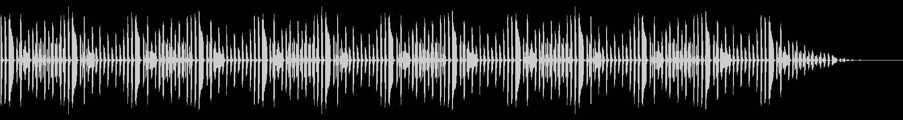 童謡「ぶんぶんぶん」脱力系アレンジの未再生の波形