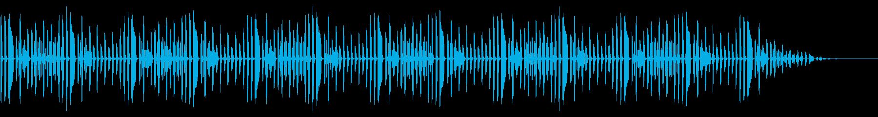 童謡「ぶんぶんぶん」脱力系アレンジの再生済みの波形