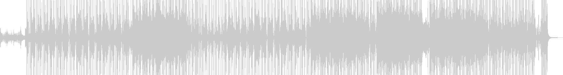 ビターエンドテーマの切ないR&B 長尺★の未再生の波形