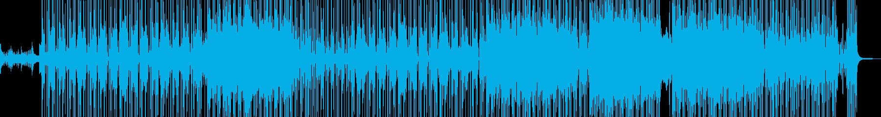 恋のビターエンドをイメージしたR&B Aの再生済みの波形