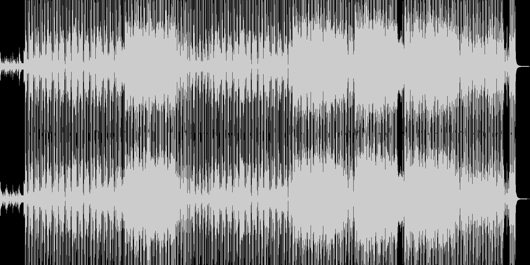 ビターエンドがテーマの切ないR&B 長尺の未再生の波形