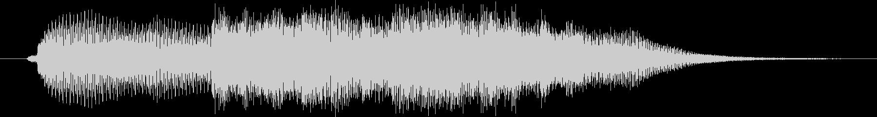 エレガント風キラキラ系サウンドロゴ01の未再生の波形