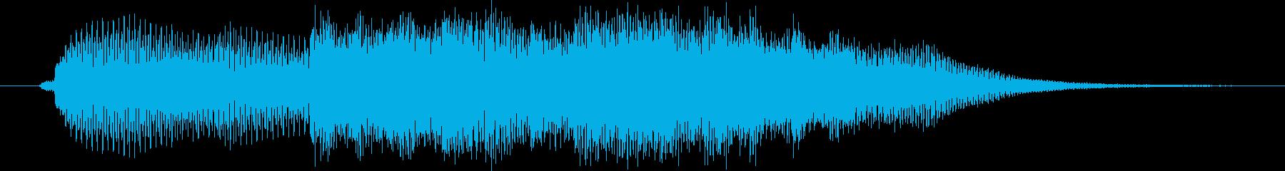 エレガント風キラキラ系サウンドロゴ01の再生済みの波形