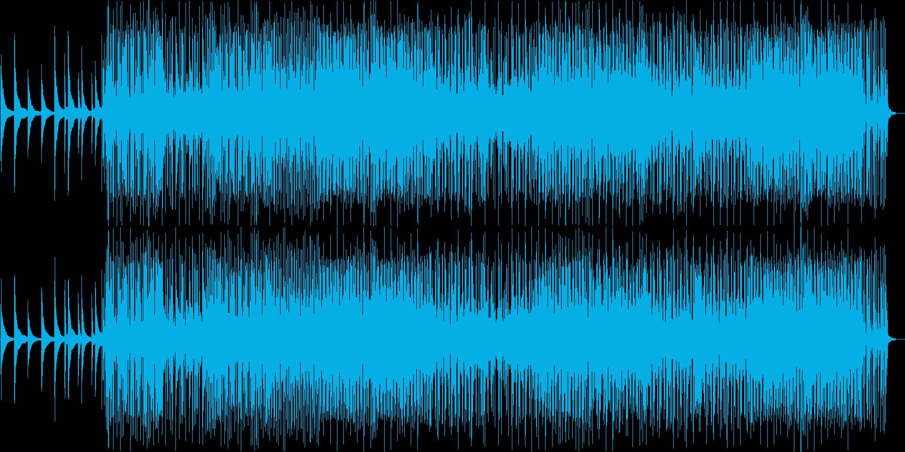 楽しい気分になるピアノインストの再生済みの波形