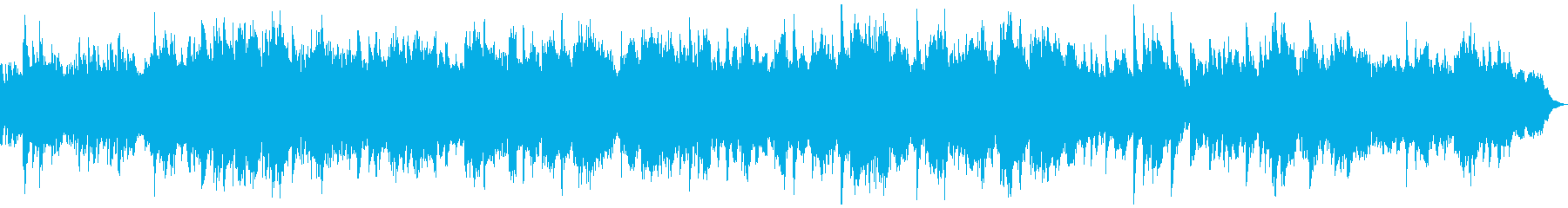 情緒的で壮大なファンタジーOP風ピアノ曲の再生済みの波形