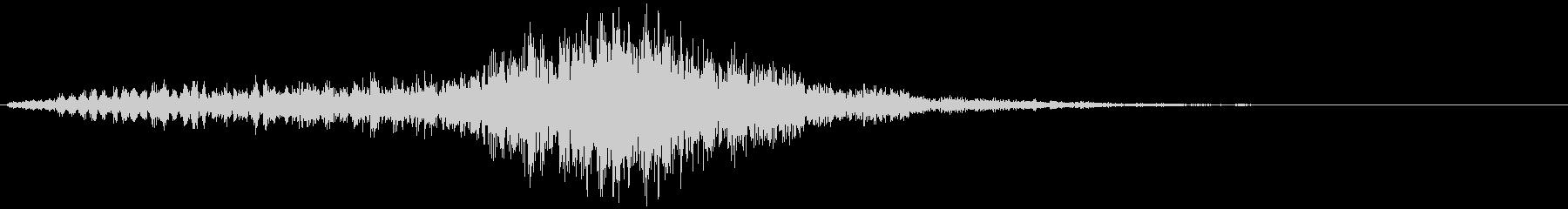 【ホラー】スリル SE_11 ゴーッッの未再生の波形