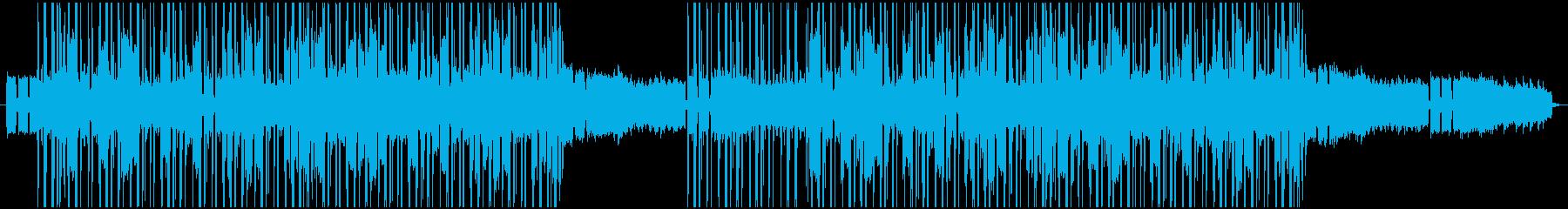 明るい気分のヒップホップの再生済みの波形