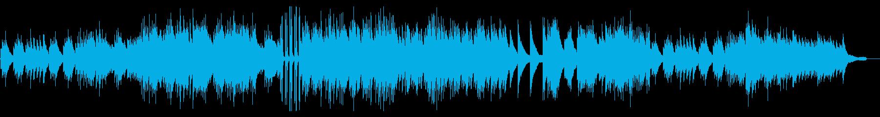 ピアノソロ/和風/モダン/荘厳の再生済みの波形