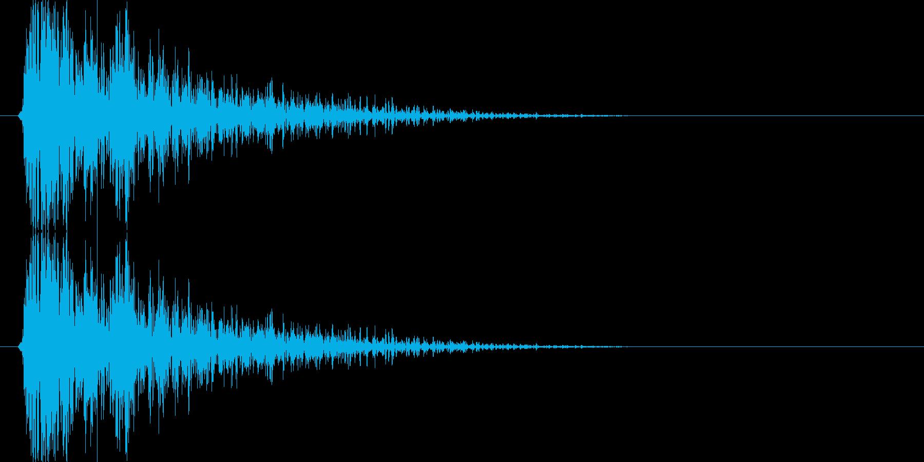 ボゥーッ↓(火器、シューティング)の再生済みの波形