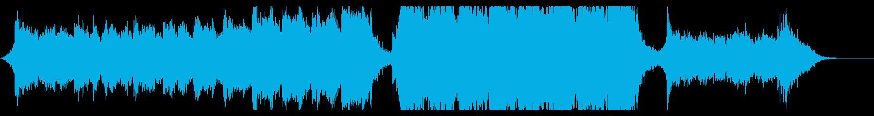ハリウッド映画風の壮大なオーケストラ7Cの再生済みの波形