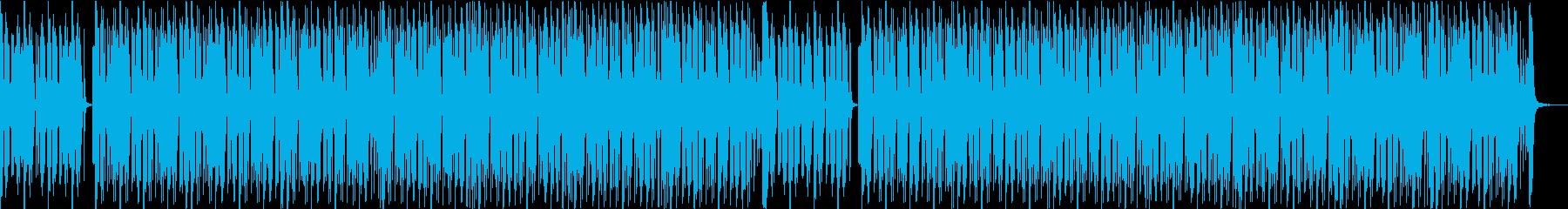 オリンピック ピクトグラムのイメージ曲の再生済みの波形