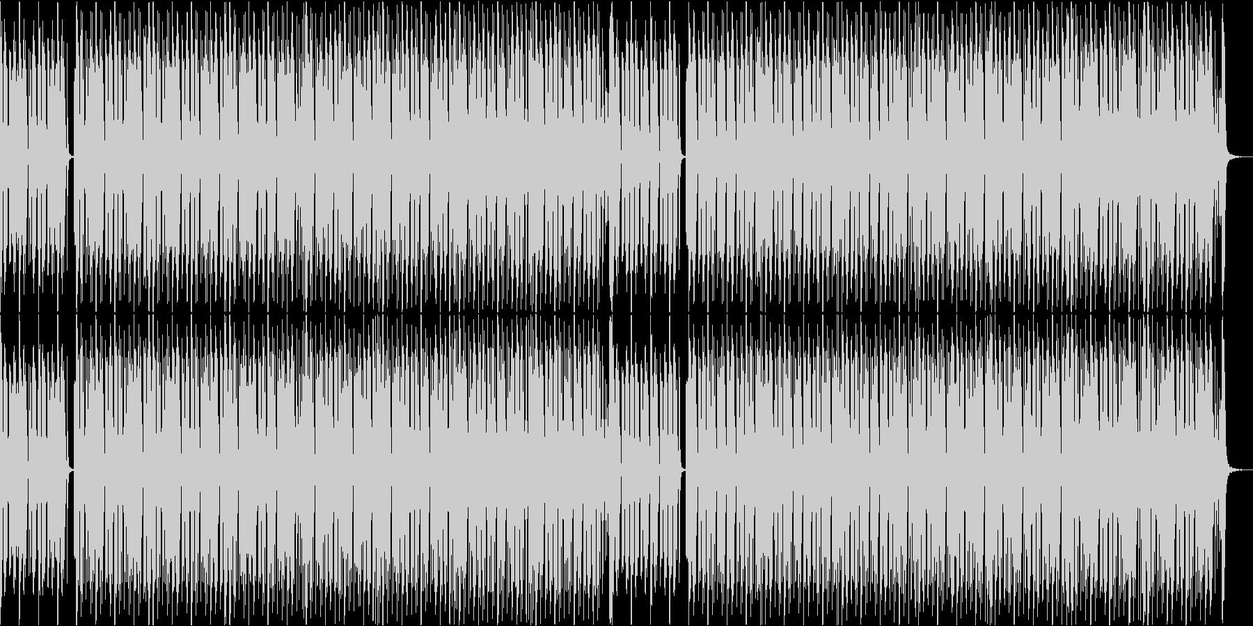 オリンピック ピクトグラムのイメージ曲の未再生の波形