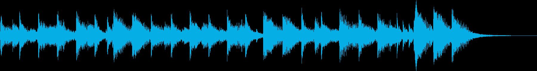 LINE DANCE TAGの再生済みの波形