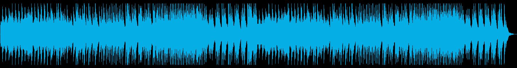 爽やかなモーニングルーティンを彩るピアノの再生済みの波形