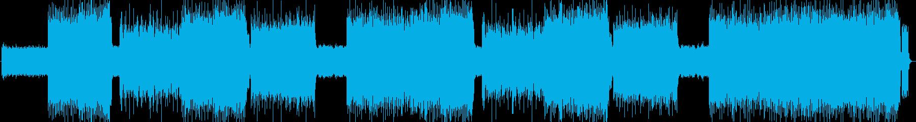 「HEAVY METAL」BGM199の再生済みの波形