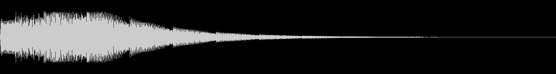 電子音 場面転換4の未再生の波形