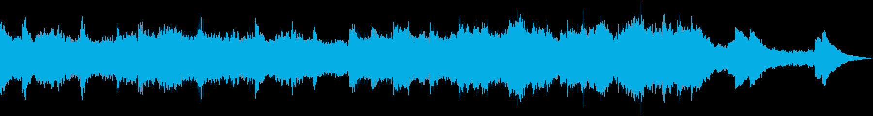 流れるような優雅な冬のホリデー音楽...の再生済みの波形