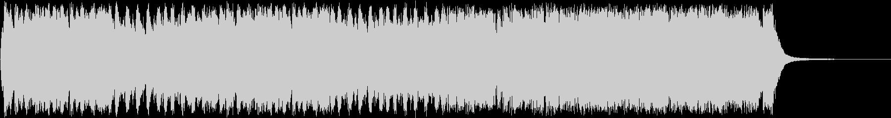 壮大なRPGエンディングオーケストラの未再生の波形