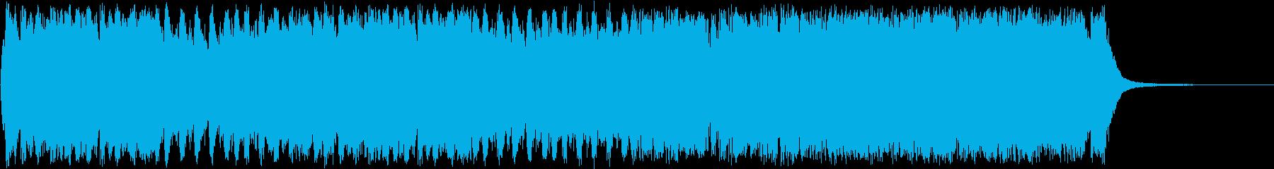 壮大なRPGエンディングオーケストラの再生済みの波形