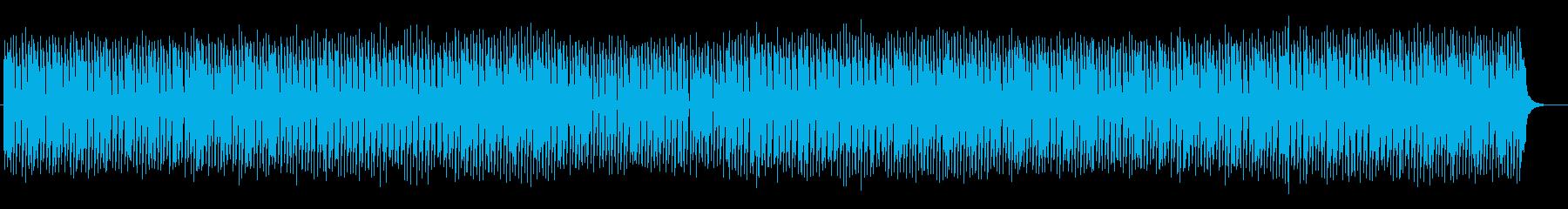 コミカルで楽しいポップサウンドの再生済みの波形