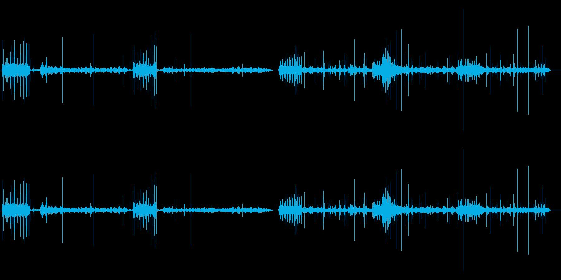 印刷用アイロン0-30の再生済みの波形