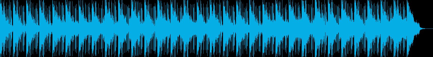 非常に暖かく滑らかなチルアウトトラ...の再生済みの波形