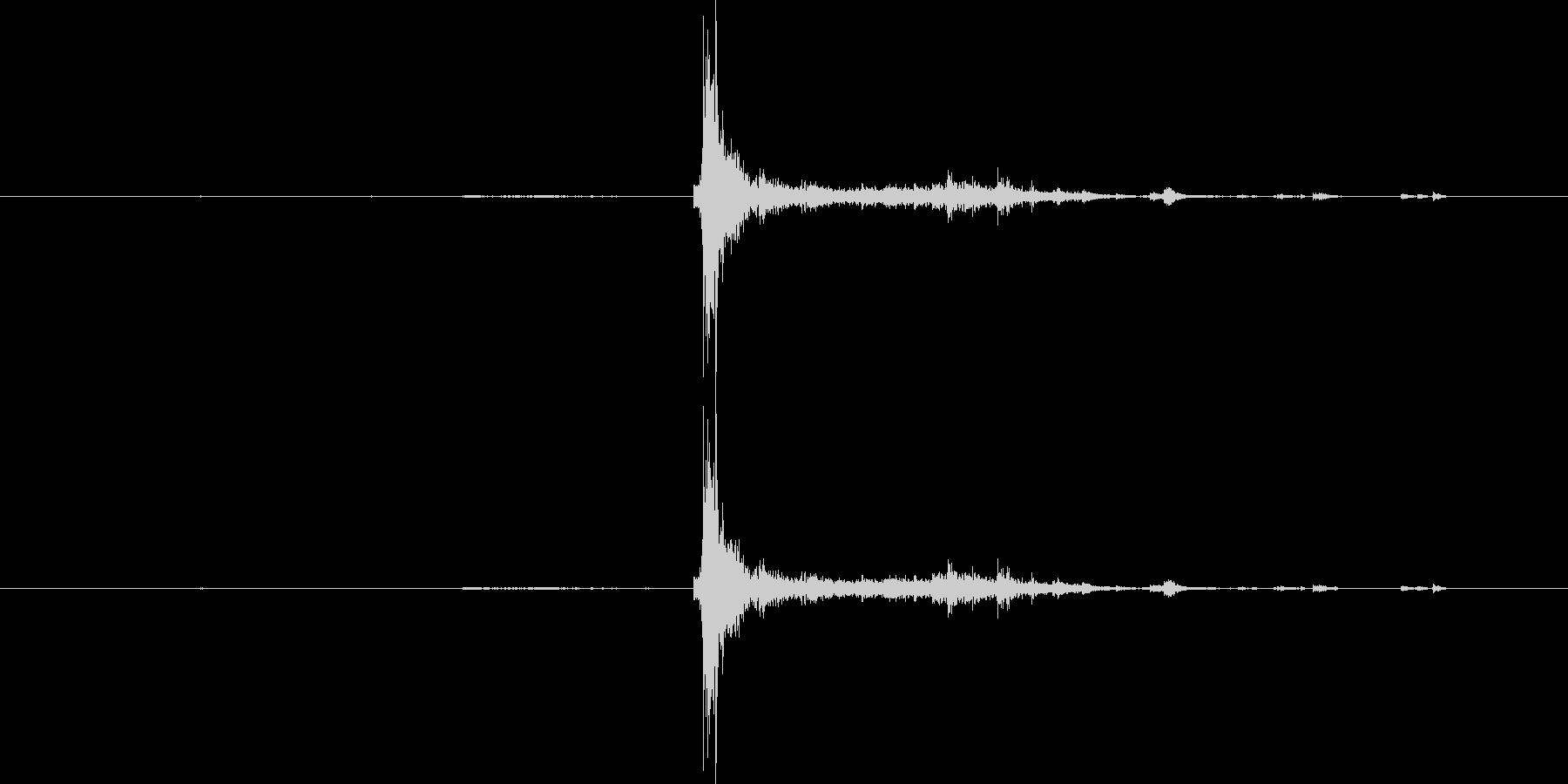 キー キーホルダーラージドロップカ...の未再生の波形