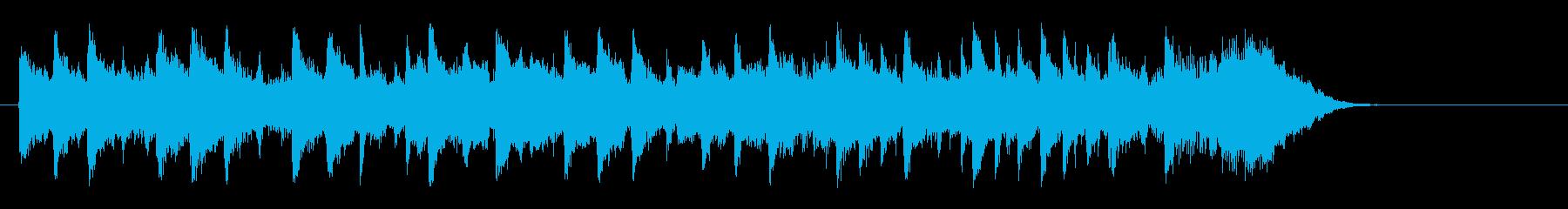 ドキュメント風ポップス(サビ~エンド)の再生済みの波形
