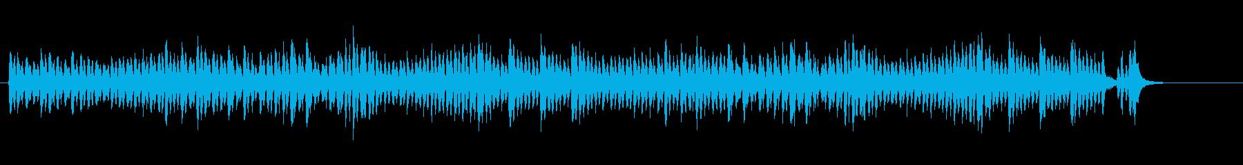 クラシカル調のコミカル・サウンドの再生済みの波形