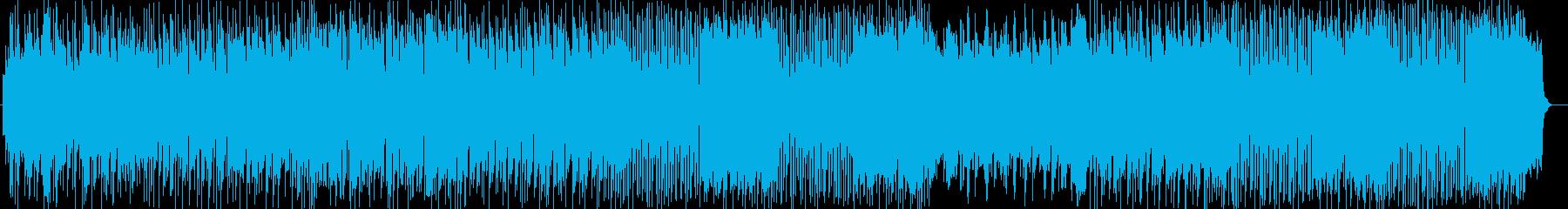 ほのぼの系シンセサイザーサウンドの再生済みの波形