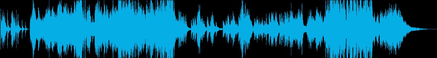 切ない、気持ちが溢れ出す2台ピアノ曲の再生済みの波形